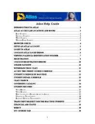 Atlas Help Atlas Guide By Valencia College Issuu