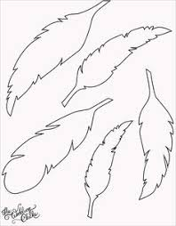 feathers free printable use as gift tags garlands etc patterns