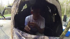 tent chair blind vlog 8 one chair blind