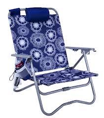 Backpack Cooler Beach Chair Amazon Com Gci Waterside St Bi Fold Beach Chair Bonsai Blue