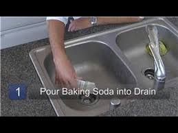 Clean Kitchen Sink Drain by Kitchen Appliance Cleaning How To Use Baking Soda As A Drain