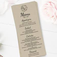 wedding menu cards wedding menus menu cards dazzling daisies