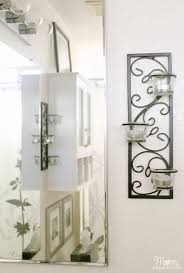 Silver Wall Sconce Candle Holder Candle Wall Sconces Can Work In The Bathroom To Add Some Wall