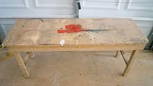 shabby chic furniture update using dark wax