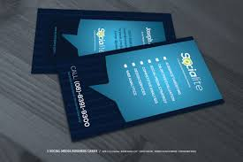 unique collection of social media business cards business cards