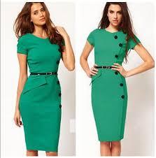 modele de robe de bureau vêtements d usine oem bureau bodycon robe fashion femmes vêtements
