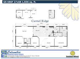columbia manufactured homes gold series