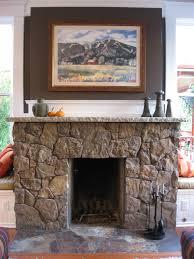 rustic fireplaces binhminh decoration