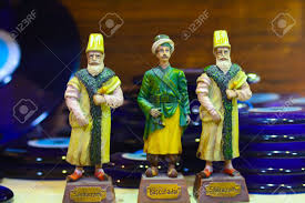 Sultans Of Ottoman Empire Souvenir Porcelain Figurines Of The Sultans Of The Ottoman Empire