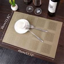 online get cheap dining table pvc placemats aliexpress com