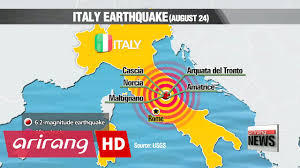 Norcia Italy Map Central Italy Hit By Devastating Quake Killing Hundreds Death