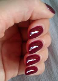 the clover beauty inn updated gelish black cherry berry