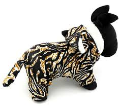 Pet Cat Halloween Costumes Esingyo Pet Puppy Apparel Small Dog Cat Clothes Warm Fleece Tiger