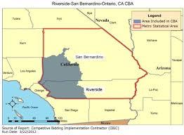 san bernardino ca map cbic 1 recompete competitive bidding area riverside