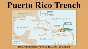 Puerto Rico On Map by Puerto Rico Trench Youtube