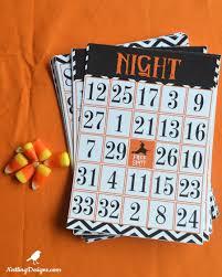 spooky halloween bingo free printable