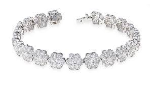 diamond flower bracelet images Bracelets jpg