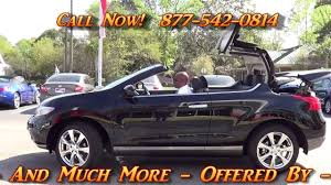 2017 nissan convertible all new 2014 nissan murano cross cabriolet awd 300371 offered by