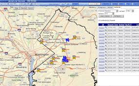 prince georges county map eroadtrack prince george s county md fleet management