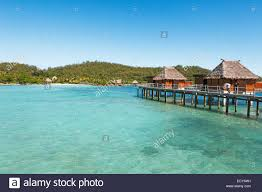 overwater bungalows in the sea the south seas malolo island