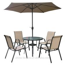 Patio Table Set With Umbrella by Outdoor Table Chair With Umbrella Outdoor Table Chair With