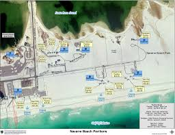 Mexico Beach Florida Map by Florida Running Clubs Park Map Rv Site Map Rv Resort Navarre