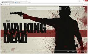 the walking dead hd wallpapers new tab theme chrome web store