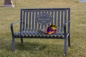 memorial benches premier memorial bench rexburg id cemetery premier memorial benches