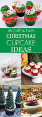 cute and easy christmas cupcake ideas