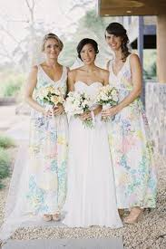 watercolor bridesmaid dresses tipful tuesday watercolor wedding