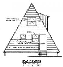 a frame plans free decor free a frame house plan with deck cabin loversiq for