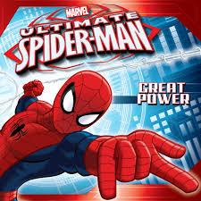 spiderman thanksgiving ultimate spider man great power disney books disney