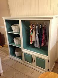 armoire for kids old entertainment center turned kids armoire your projects obn