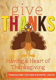 thanksgiving children s ministry lesson give thanks children s
