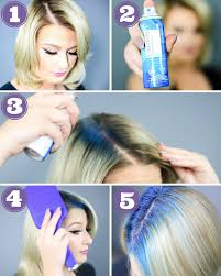 Hair Color Spray For Roots Forget The Ends And Go Straight To The Root For A Modern Take On