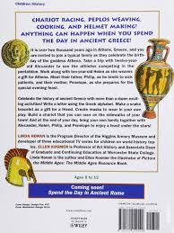 amazon com spend the day in ancient greece projects and