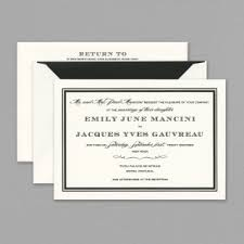 and black wedding invitations vera wang wedding invitations