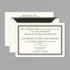 black and white invitations vera wang wedding invitations