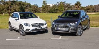 audi q5 model comparison 2017 audi q5 2 0 tdi sport v mercedes glc 220d comparison
