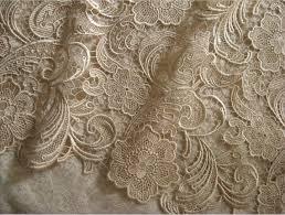 champagne lace fabric venise lace fabric bridal lace fabric