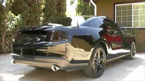 2010 Black Mustang 2010 Mustang Gt Black Murdered Smoked Out Before U0026 After