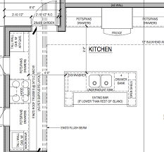 Kitchen House Plans Glamorous Kitchen Floor Plans With Islands 37 With Additional