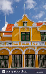 Dutch Colonial Architecture Dutch Colonial Architecture In Willemstad Curacao Netherland