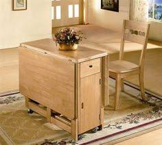 Beautiful Folding Dining Table With Good Design Charming Wooden - Collapsible kitchen table