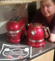 Kitchen Aid Toaster Red - hollie received the kitchenaid kettle and toaster to review and