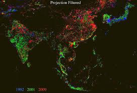 Map Of Thailand Cleveland Lighting Up The Night Imageo