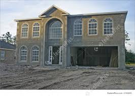 Two Story Home New Two Story Home Construction Image