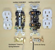 electrical outlets side wire versus back wire