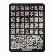 lacquer lockdown favorite nail art stamping plates for christmas
