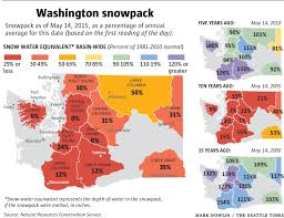 Washington State Relief Map by Inslee Declares Statewide Drought Emergency The Seattle Times